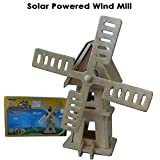 Solar Powered Wind Mill- Do It Yourself, Play & Educational Toy For Kids