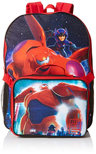 Disney Big Hero 6 Backpack with Lunch Kit