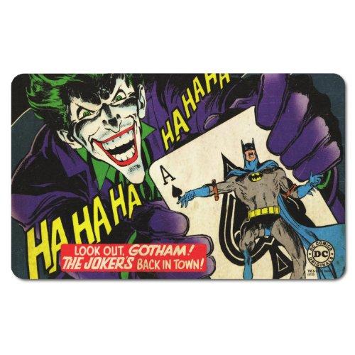 """DC Comics-Tagliere per la colazione in Retro """"Batman Il Joker Back in Town."""" Design"""