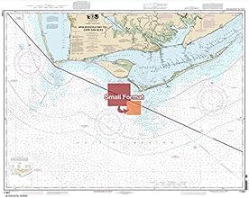 NOAA Chart 11401 Apalachicola Bay to Cape San Blas 2100 X 2648 SMALL FORMAT WATERPROOF