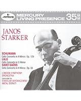Schumann / Lalo / Saint-Saëns: Cello Concertos