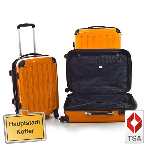 HAUPTSTADTKOFFER® · 3er Hartschalen Kofferset