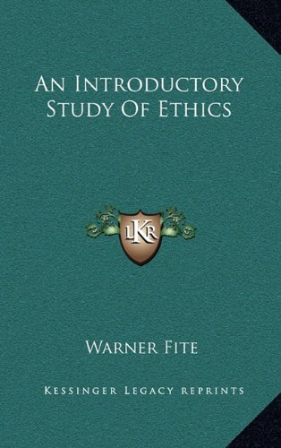 An Introductory Study of Ethics