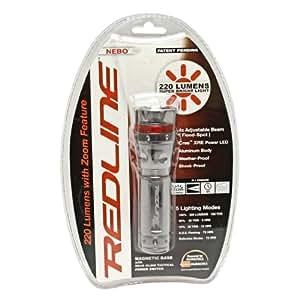 Nebo Redline Tactical Flashlight Strobe S.O.S 220 Lumen #5581