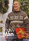 Amanda Jones Snow Man Men's Christmas Snadinavian style Snowflake and Reindeer Motif Sweater Knitting Pattern: To fit chest 34