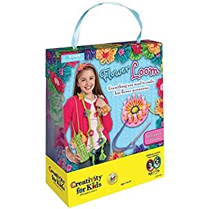 Faber Castell Creativity for Kids Jewelry Making Flower Loom Arts & Crafts