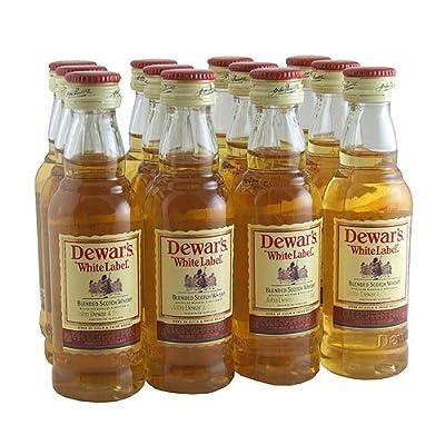 Dewars White Label Blended Whisky 5cl Miniature - 12 Pack by Dewars