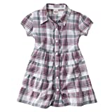 Mossimo Supply Co. Girls' Short-Sleeve Plaid Tunic - White