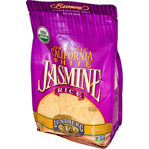 Lundberg, Organic, California White Jasmine Rice, 32 oz (907 g) - 2pcs (Jasmine White Rice Organic compare prices)