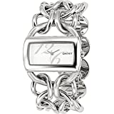 DKNY Damen-Armbanduhr Analog Quarz Edelstahl NY4367