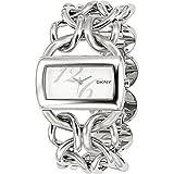 DKNY Stainless Steel Ladies Brushed Steel Dial Bracelet Watch