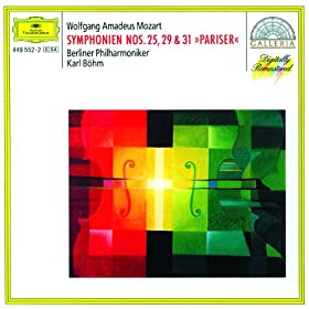 Wolfgang Amadeus Mozart: Symphony No.25 in G minor, K.183 - 3. Menuetto