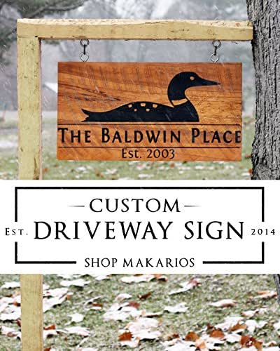 House sign address sign driveway sign yard - House number signs for yard ...