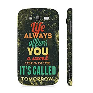 Samsung Galaxy Core Prime Tomorrow It Is! designer mobile hard shell case by Enthopia