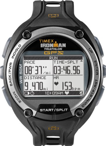 Timex Herren-Armbanduhr XL Ironman Global Trainer Digital Kautschuk T5K267