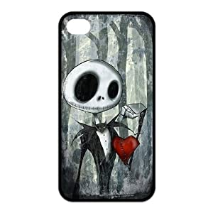 DESIGNHOUSE Disney the Nightmare Before Christmas Best Durable Silicone iPhone 4/4S Case The Nightmare Before Christmas iPhone 4/4S Case