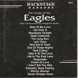 Greatest Hits of THE EAGLES Backstage Karaoke CDG