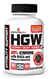 ★ Horny Goat Weed W/ Maca Root & Extra Maximum Strength 20% Icariins & Tribulus   Highest Effective Dose Ever 1404 mg Per Serving! 45 Day Supply 90 Capsules - 100% USA Made and GMP Certified - by Doctor Care PlusTM INTRODUCTORY PRICE