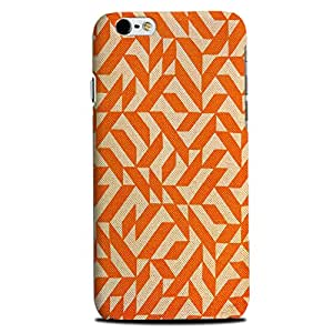 Iphone 6, 6S Perfect fit Matte finishing Motif Pattern Mobile Backcover designed by Aaranis (Multicolor) Perfect fit Matte finishing Motif Pattern Mobile Backcover designed by Aaranis (Orange)
