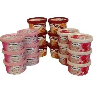 ハーゲンダッツ ミニカップ(サクラ、ローズ、アップルパイ) 6個x3種=18個