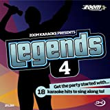 Zoom Karaoke CD+G - Legends Volume 4 - Elton John/Billy Joel/Rod Stewart/Barry Manilow [Card Wallet] Zoom Karaoke