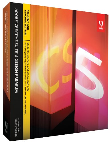 Adobe Creative Suite 5 Design Premium Student & Teacher Edition [Mac][OLD VERSION]