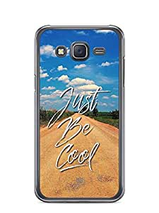 YuBingo Just Be Cool Designer Mobile Case Back Cover for Samsung Galaxy J5