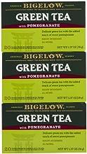 Bigelow Green Tea w Pomegranate Tea Bags - 20 ct - 3 pk