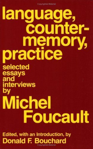 language counter-memory practice selected essays and interviews