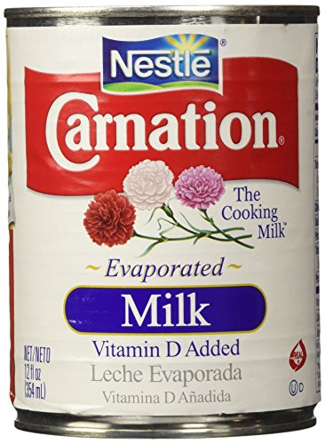 Nestle Carnation Evaporated Milk, 1 Can of 12 Oz (354 ml) (Canned Evaporated Milk compare prices)