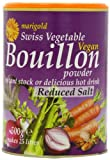 Marigold Reduced Salt Bouillon Powder 500 g (Pack of 2)