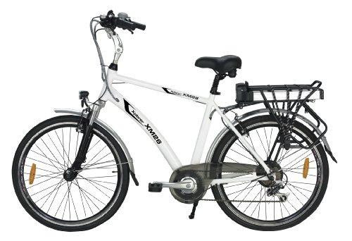 Buy Low Price Yukon Trails Men's Xpolrer Sport Hybrid Electric Bike (26-Inch) (MS-EBLIF26)