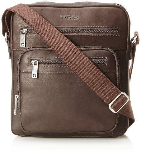 686c272fac6 The Features Kenneth Cole Reaction Any Other Day Colombian Top Zip Bag Ipad  Tablet Case Brown One Size -