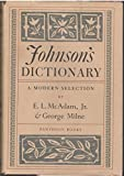 img - for Johnson's Dictionary: A Modern Selection book / textbook / text book