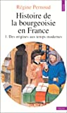 Histoire de la bourgeoisie en France, tome 1 : Des origines aux temps modernes