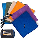 Mountain Warehouse Giant Travel Towel - 150cm x 85cm - Micro Towelling Lightweight, Antibacterial