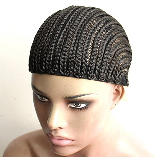 royalvirgin 250tappi per facilitare la Sew in, intrecciato parrucca Crochet, tappi per parrucca, Glueless capelli Net antiscivolo Crochet parrucca tappi, 1pc/lot