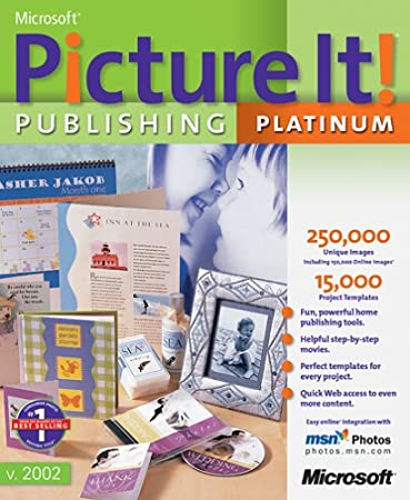 Microsoft Picture It! Publishing Platinum 2002 [Old Version]