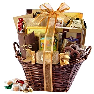 Broadway Basketeers Kosher Gourmet Gift Basket (Large)
