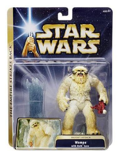 Wampa With Hoth Cave Hoth Attack the Empire Strikes Back Deluxe Star Wars Set