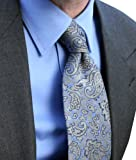 BY PI TIE - A SUPERIOR WOVEN SILK TIE FOR THE PERFECT BUSINESS SHIRT WEAR FOR BUSINESS, CLASSIC, FORMAL, CITY, WORK, LEISURE,DAY, EVENING, SMART OR HOWEVER YOU PREFER. THIS IS THE PERFECT ACCOMPANIMENT TO MY SHIRTS. LOOK THE PART. £29.95