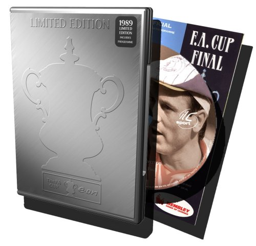 1989 FA CupCommemorative Tin – Liverpool FC v Everton incl. match day programme [DVD]