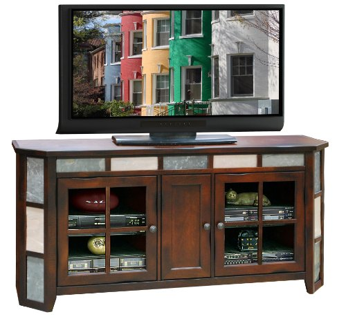 Fire Creek Angled Tv Console 62""