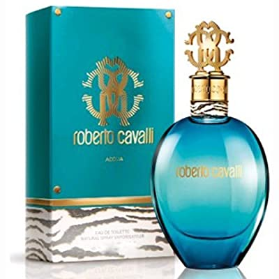 Roberto Cavalli Acqua Eau de Toilette Spray, 2.5 Ounce
