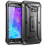 Galaxy S6 Case, SUPCASE Full-body Rugged Holster Case with Built-in Screen Protector for Samsung Galaxy S6 (2015 Release), Unicorn Beetle PRO Series - Retail Package (Black/Black)