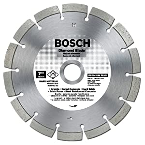 Bosch DB764 Premium Plus 7-Inch Dry or Wet Cutting Segmented Diamond Saw Blade with 5/8-Inch Arbor for Granite at Sears.com