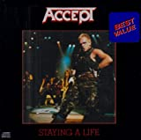 Accept - Staying A Life [Original Very Rare]