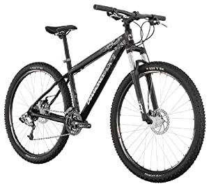 Diamondback Overdrive 29'er Mountain Bike (29-Inch Wheels), Satin Black, Medium/18-Inch