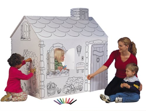 My Very Own House - Color Your Own Playhouse Cottage