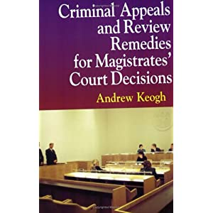 Amazon.com: Criminal Appeals Review Remedies P (9781854319739 ...